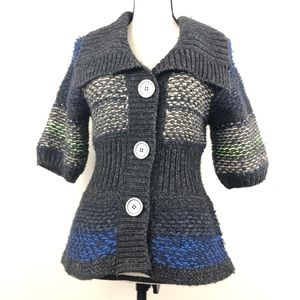 Free People Heavy Wool Blend Knit Sweater